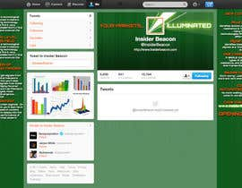 #10 for Twitter Background Design for Financial/Stocks/Trading Tool Website af Utnapistin