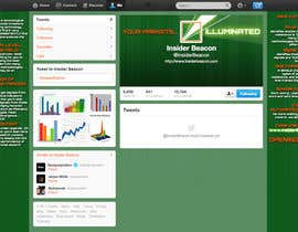 #13 for Twitter Background Design for Financial/Stocks/Trading Tool Website by Utnapistin