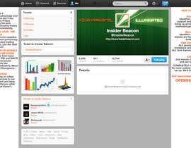 #26 for Twitter Background Design for Financial/Stocks/Trading Tool Website by Utnapistin