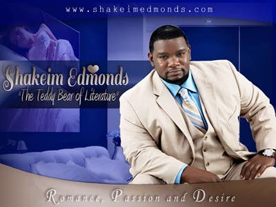 "Contest Entry #                                        17                                      for                                         Flyer Design for The Teddy Bear of Literature. ""Shakeim Edmonds"" Flyer"