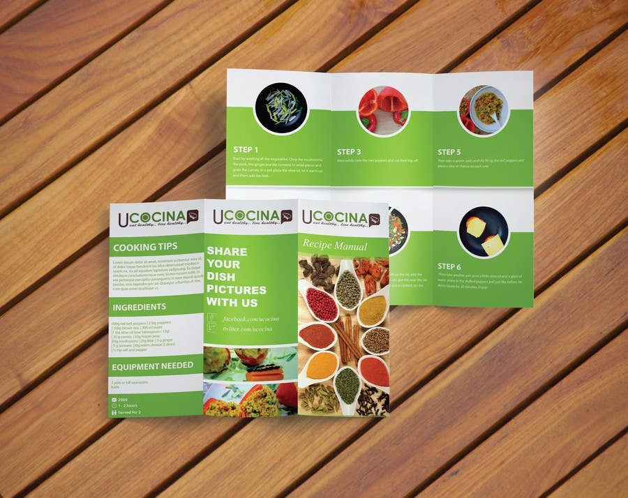 Contest Entry #                                        5                                      for                                         Design a ROll Fold Brochure