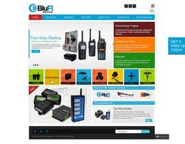 #7 para Website CONCEPT Design BluFi Wireless USA por ProliSoft