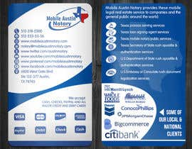 #27 for Revamp Existing Business Card Into a Modern Clean Design af RERTHUSI