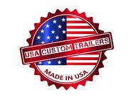 Graphic Design Contest Entry #25 for USA Custom Trailers