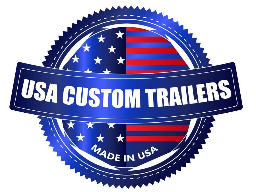 Konkurrenceindlæg #                                        30                                      for                                         USA Custom Trailers