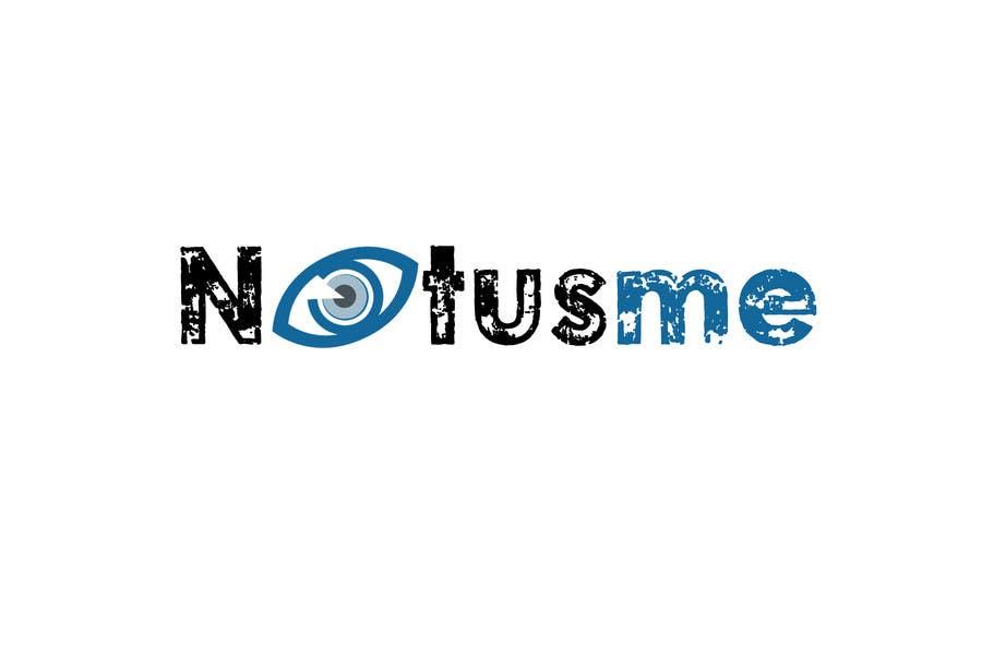 Konkurrenceindlæg #701 for Design a Logo for Notusme Apparel