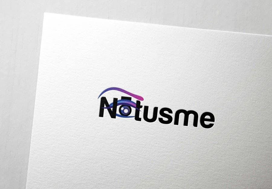 Konkurrenceindlæg #724 for Design a Logo for Notusme Apparel