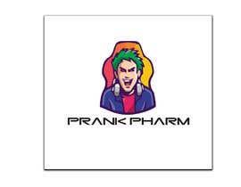 Nro 68 kilpailuun Make a youtube channel logo:   Prank Pharm  (a prank channel) käyttäjältä muhammadqais786