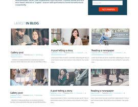 #24 cho Create and implement a Wordpress Template for a Blog/Podcast website bởi jituchoudhary