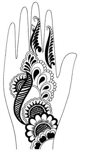Konkurrenceindlæg #17 for I need some Graphic Design for Mehendi artwork illustration