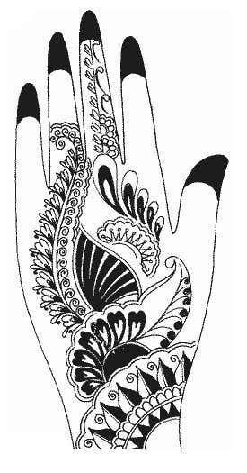 Konkurrenceindlæg #20 for I need some Graphic Design for Mehendi artwork illustration