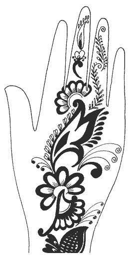 Konkurrenceindlæg #22 for I need some Graphic Design for Mehendi artwork illustration