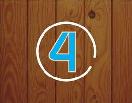#27 for Design a Logo with number 4 by creazinedesign