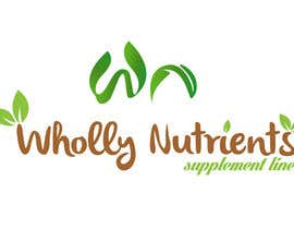 #10 for Design a Logo for a Wholly Nutrients supplement line by Kvovtz