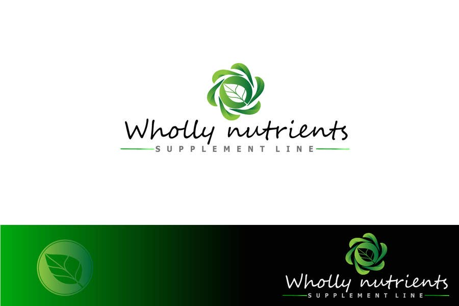 Contest Entry #112 for Design a Logo for a Wholly Nutrients supplement line