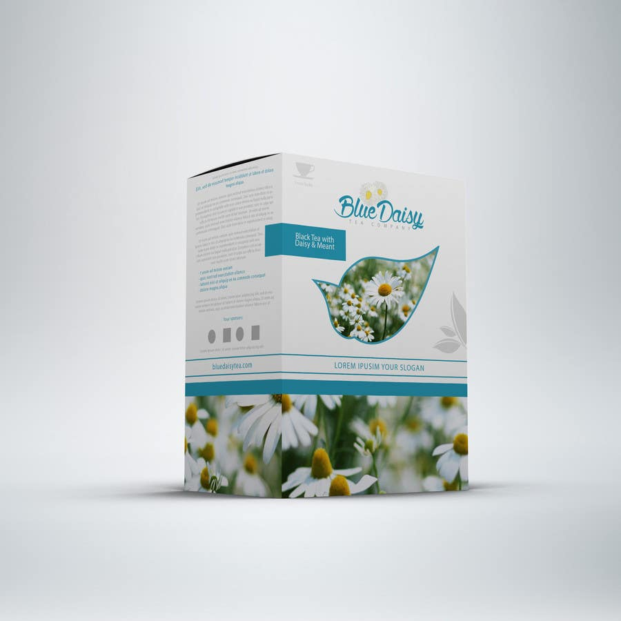 Contest Entry #                                        18                                      for                                         Create Print and Packaging Designs for Blue Daisy Tea Company