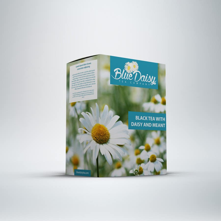 Inscrição nº 21 do Concurso para Create Print and Packaging Designs for Blue Daisy Tea Company