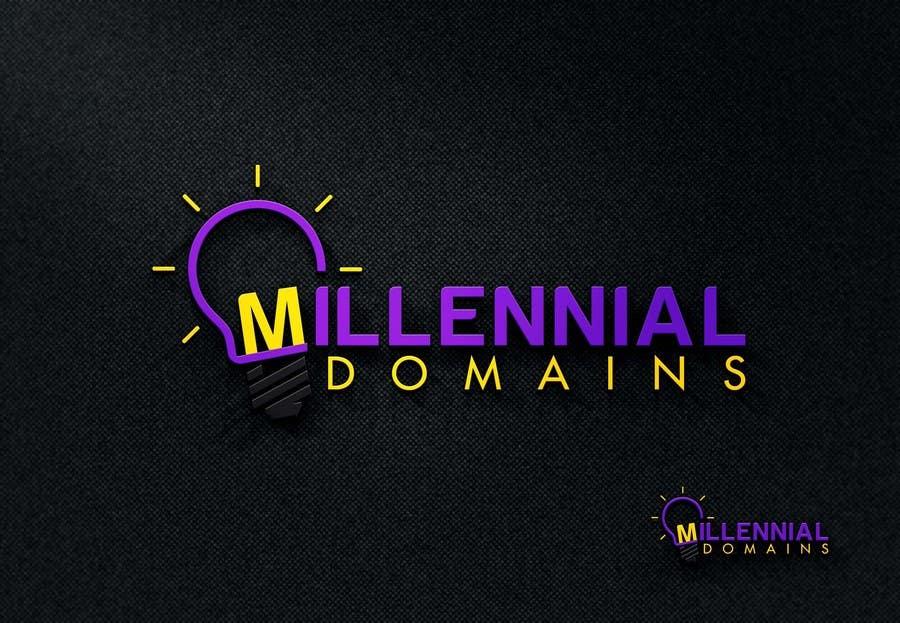 Bài tham dự cuộc thi #100 cho Design a Logo for MillennialDomains.com