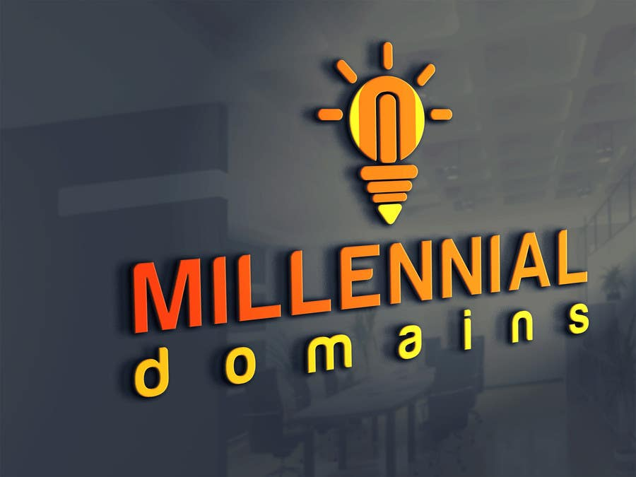 Bài tham dự cuộc thi #68 cho Design a Logo for MillennialDomains.com