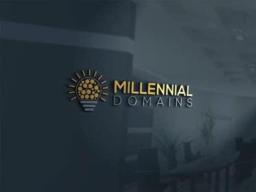Nro 73 kilpailuun Design a Logo for MillennialDomains.com käyttäjältä thelionstuidos