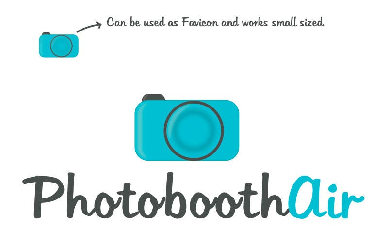 Proposition n°                                        33                                      du concours                                         Design a Logo for PhotoBoothAir