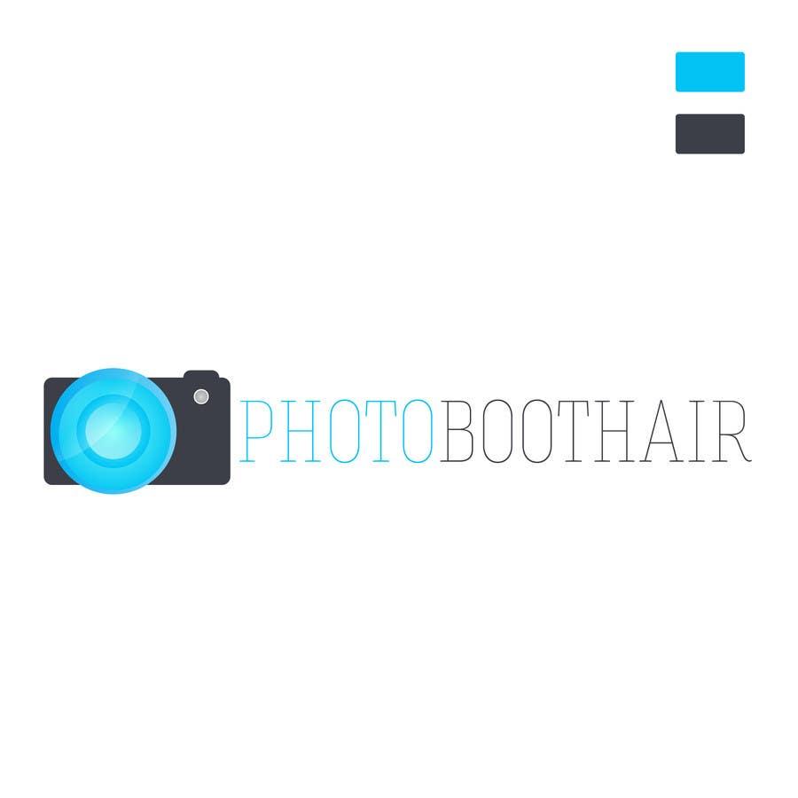 Proposition n°                                        54                                      du concours                                         Design a Logo for PhotoBoothAir