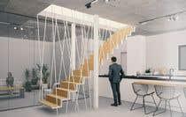 Proposition n° 52 du concours 3D Modelling pour Designing Staircase