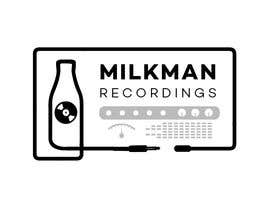 #19 untuk Create a logo and business card design for Milkman Recordings. oleh askalice