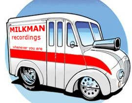 #17 untuk Create a logo and business card design for Milkman Recordings. oleh ricardovdl