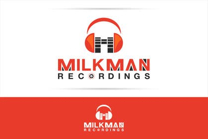 #29 untuk Create a logo and business card design for Milkman Recordings. oleh sdartdesign