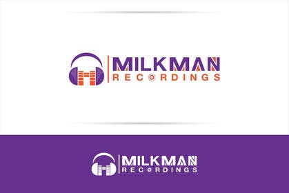 #36 untuk Create a logo and business card design for Milkman Recordings. oleh sdartdesign