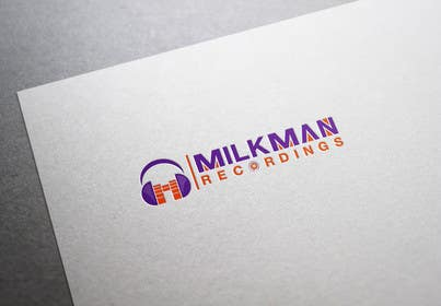#39 untuk Create a logo and business card design for Milkman Recordings. oleh sdartdesign