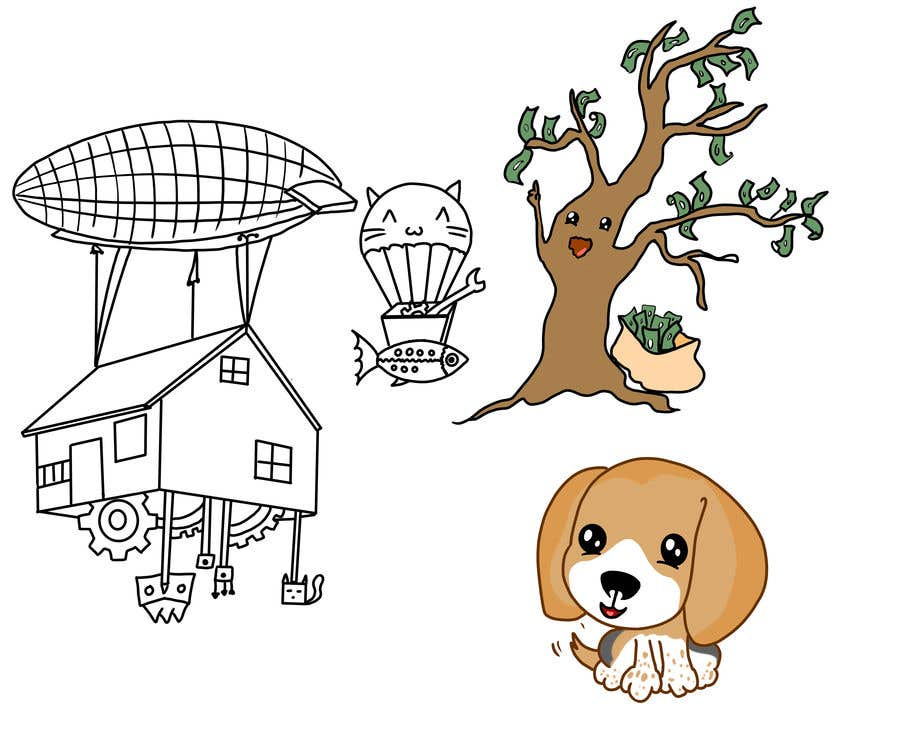 Kilpailutyö #                                        14                                      kilpailussa                                         Illustration Artist