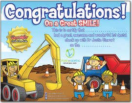 #16 untuk Illustrate Something for Kids Dental Certificate oleh madiworks