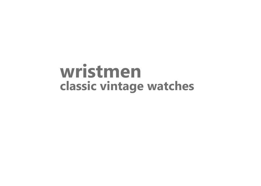 Inscrição nº 155 do Concurso para Vintage watches retailer name and baseline