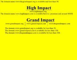 #496 for Create a BUSINESS NAME for a social/humanitarian company af karankar