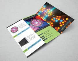 #7 for Trifold Product Brochure for LED Company by todtodoroff