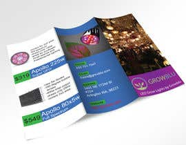 #3 for Trifold Product Brochure for LED Company by aharifhossain33