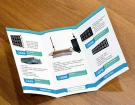 #9 for Trifold Product Brochure for LED Company by gldhN