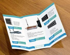#10 for Trifold Product Brochure for LED Company by gldhN