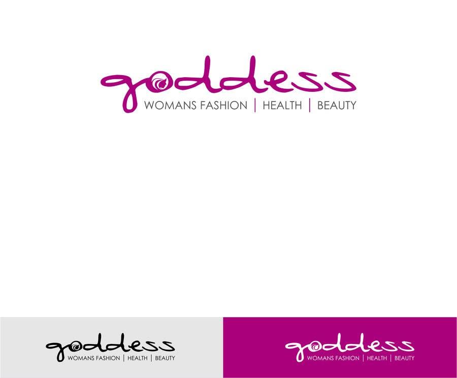 Konkurrenceindlæg #                                        38                                      for                                         Design a Logo for Goddess.
