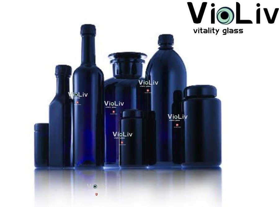 Kilpailutyö #                                        20                                      kilpailussa                                         Logo Design for Vitality Glassware
