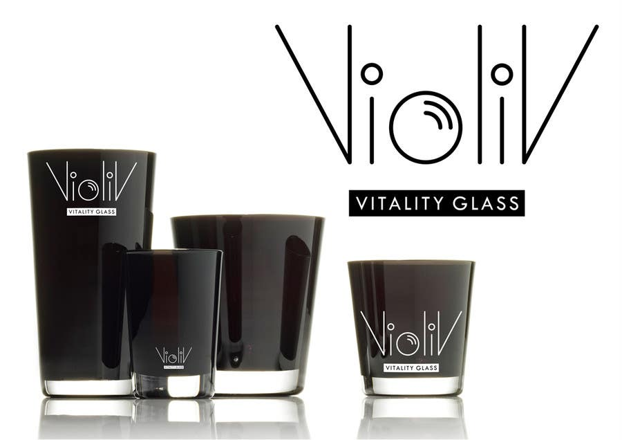 Kilpailutyö #                                        10                                      kilpailussa                                         Logo Design for Vitality Glassware