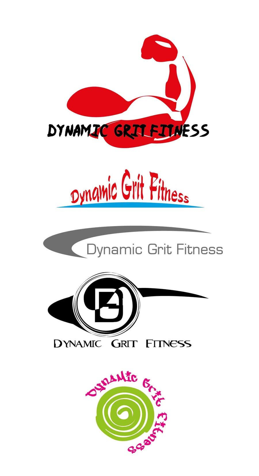 Contest Entry #                                        41                                      for                                         Design a Logo for Dynamic Grit Fitness