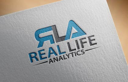 #25 cho Design a Logo for Real Life Analytics bởi alikarovaliya
