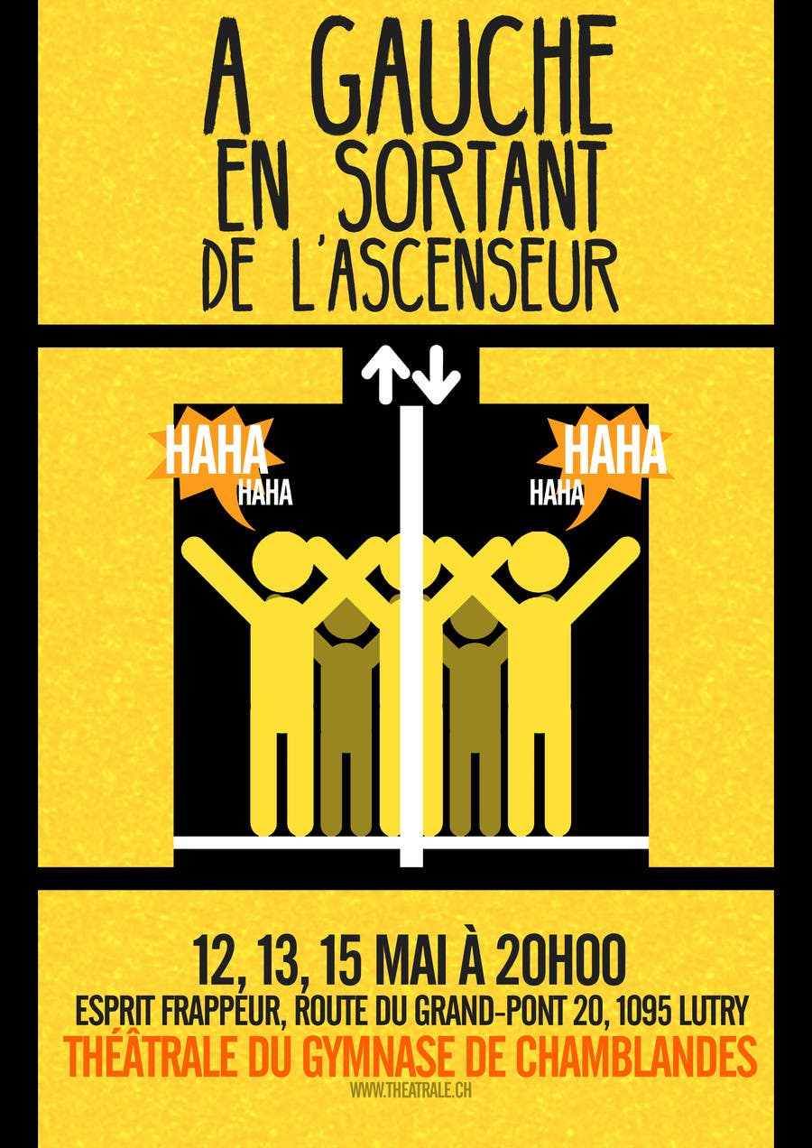 Proposition n°                                        18                                      du concours                                         Design a Flyer for Theatrical Comedy