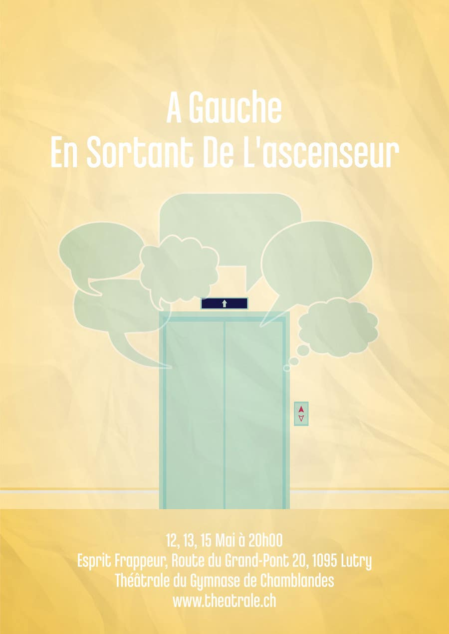 Proposition n°                                        5                                      du concours                                         Design a Flyer for Theatrical Comedy