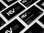 Graphic Design Konkurrenceindlæg #7 for Design some Business Cards for KLV Studio