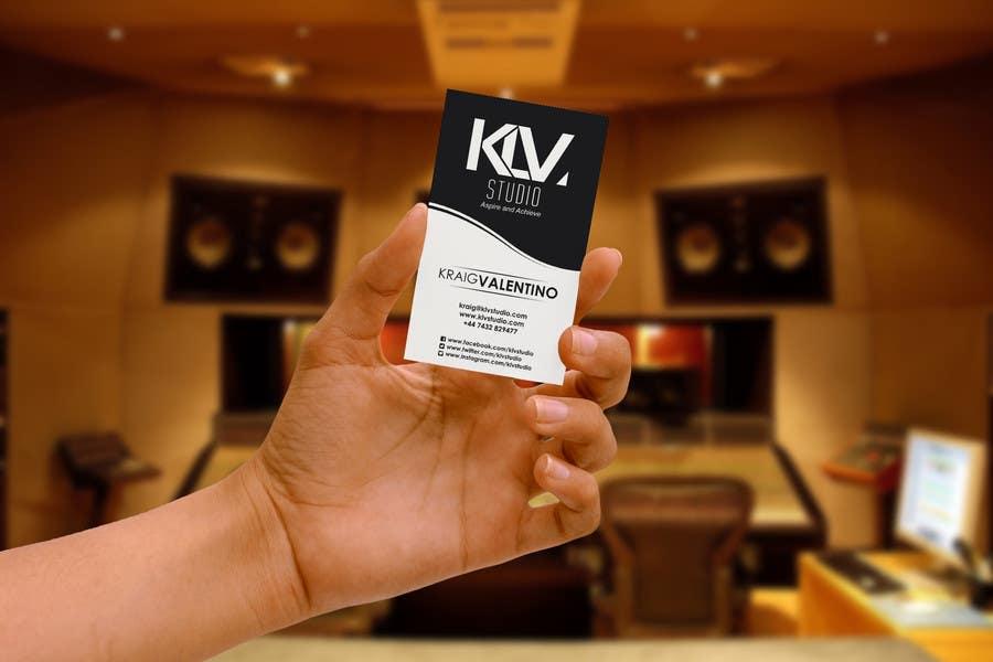 Konkurrenceindlæg #                                        8                                      for                                         Design some Business Cards for KLV Studio