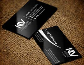 #184 for Design some Business Cards for KLV Studio by nuhanenterprisei